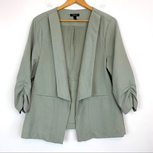 Torrid Blazer Green Size 2 Career Rushed AG43